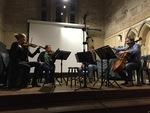 Chanterelle String Quartet play Lalor, Vivaldi, Bridge