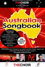Australian Songbook - THECHO!R pays homage to our great Australian music, singers and composers