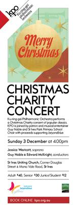 KPO: Christmas Charity Concert