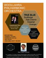 Woollahra Philharmonic Orchestra: True Blue