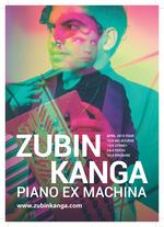 Zubin Kanga - Piano Ex Machina