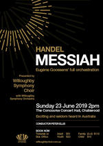 Willoughby Symphony Choir sings Messiah