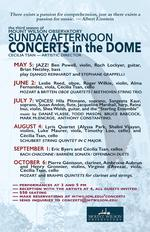CONCERTS in the DOME
