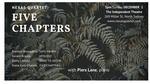 Five Chapters: Nexas Quartet with Piers Lane