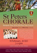 St Peters Chorale Post Tour Concert