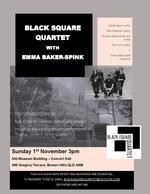 Black Square Quartet + Emma Baker-Spink