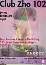 Club Zho 102 : Young composers night