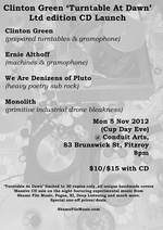 Turntable At Dawn CD launch