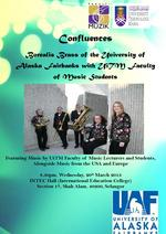 Confluences: Borealis Brass of the University of Alaska Fairbanks with UiTM Faculty of Music Students