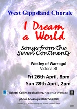 I Dream A World: Songs from Seven Continents