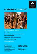 A Community Flute Day