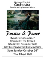National Capital Orchestra : Passion & Power