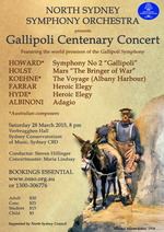 Gallipoli Centenary Concert