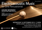 Electroacoustic Music for One Percussionist