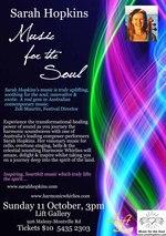 Sarah Hopkins 'Music for the Soul' Performance