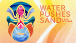 Water Pushes Sand