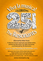Viva la musica! : Celebrating 25 years of the Resonants