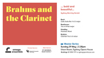 Brahms and the clarinet