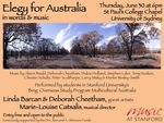 Elegy for Australia