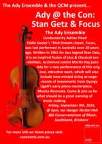 Ady @ the Con: Stan Getz & Focus