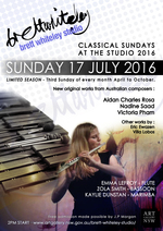 Classical Sundays at the Studio (July, 2016)