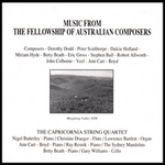 Music from the Fellowship of Australian Composers.