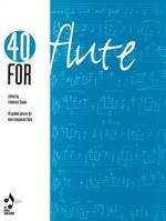 40 for flute