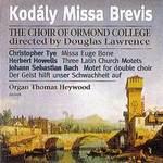 Kodaly Missa Brevis