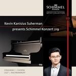 Kevin Kanisius Suherman presents the new Schimmel Konzert 219 piano.