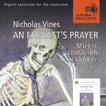 Essayist's Prayer