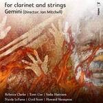For Clarinet and Strings