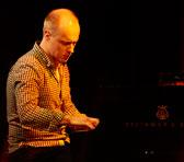 Marc Hannaford at Monday night's Freedman concert