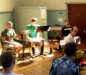 MODART13 rehearsal with The Song Company and Roland Peelman