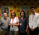 Stuart Greenbaum, Johanna Selleck, Andrián Pertout and Petar Jovanov