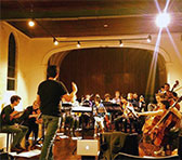 The Melbourne Metropolitan Sinfonietta in rehearsal