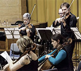 The Melbourne-based Arcko Symphonic Ensemble at work