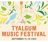 Australian music at 2015 Tyalgum Festival