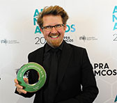 Iain Grandage winner of the Vocal/Choral Work of the Year.
