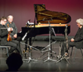 "Ensemble Phorminx (Alwyn Tomas Westbrooke, Markus Stange, and Thomas Löffler). <a href=""https://micnet-cdn.s3.amazonaws.com/images/resonate/phorminx-bigger.jpg"" target=""_blank"">Larger image</a>."