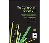 The Composer Speaks II ebook now available
