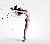 Matthew Hindson and choreographer David Bintley's ballet <em>Faster</em> is currently showing in Sydney