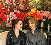 Composer Aristea Mellos and pianist Bernadette Harvey