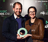 Chamber Made's Tim Stitz and Tamara Saulwick - Award for Excellence in Experimental Music