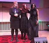 Cat Hope, Dobromila Jaskot & Karina Utomo after the Melbourne address and premiere of <em>Silenced</em>.
