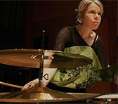 Percussionist and composer Vanessa Tomlinson