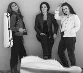 TRIOZ: Niki Vasilakis, Emma-Jane Murphy and Kathryn Selby