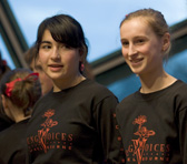 Singers of the Young Voices of Melbourne in concert