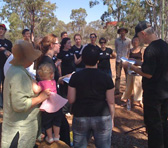 Participants of the Myall Park Open Day