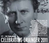 Celebrating Grainger 2011 brochure (detail)