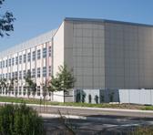 Exterior photo of the AlloSphere